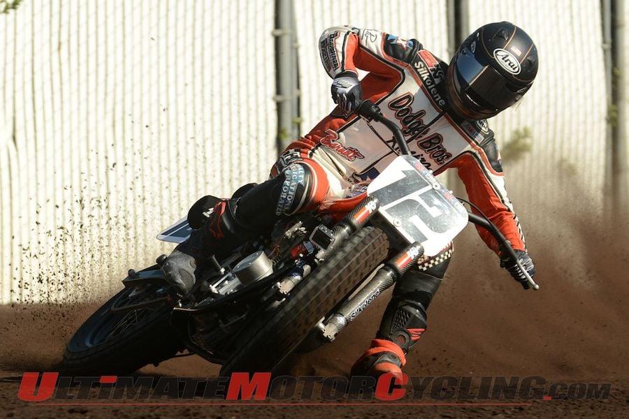 Harley Factory Rider Brad Baker