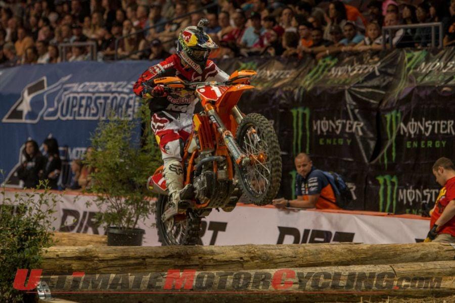 KTM's Blazusiak & Brown Take EnduroCross Fight Down to the Wire