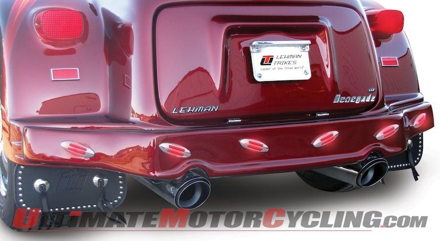 Lehman Trikes Releases New LED Light Bar for Harley Models