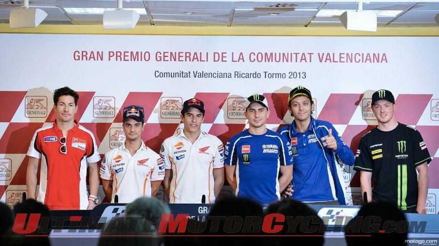 2013 Valencia MotoGP Press Conference