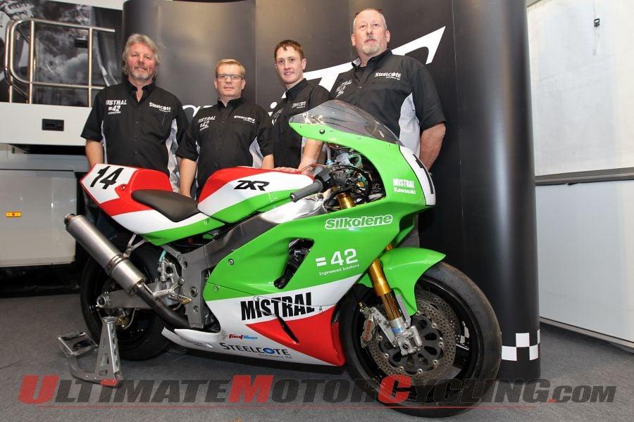 Classic TT: Mistral Racing Signs Harrison & Coward on ZXR750s