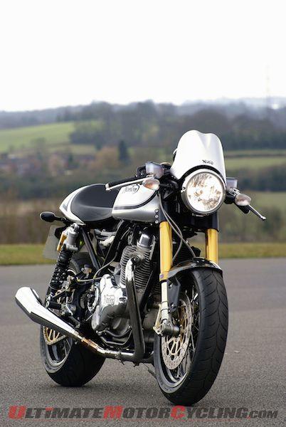 Norton Commando 961 Motorcycles Arrive in U.S. Dealerships