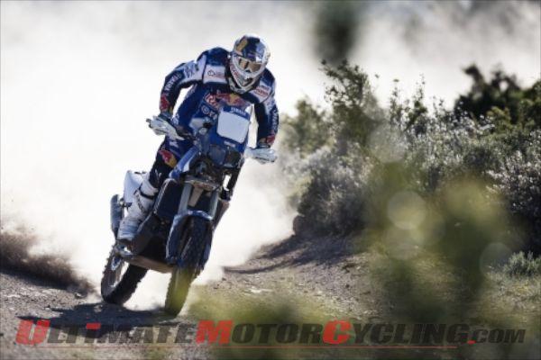 Despres Reviews Yamaha Experience Ahead of 2014 Dakar (Video)