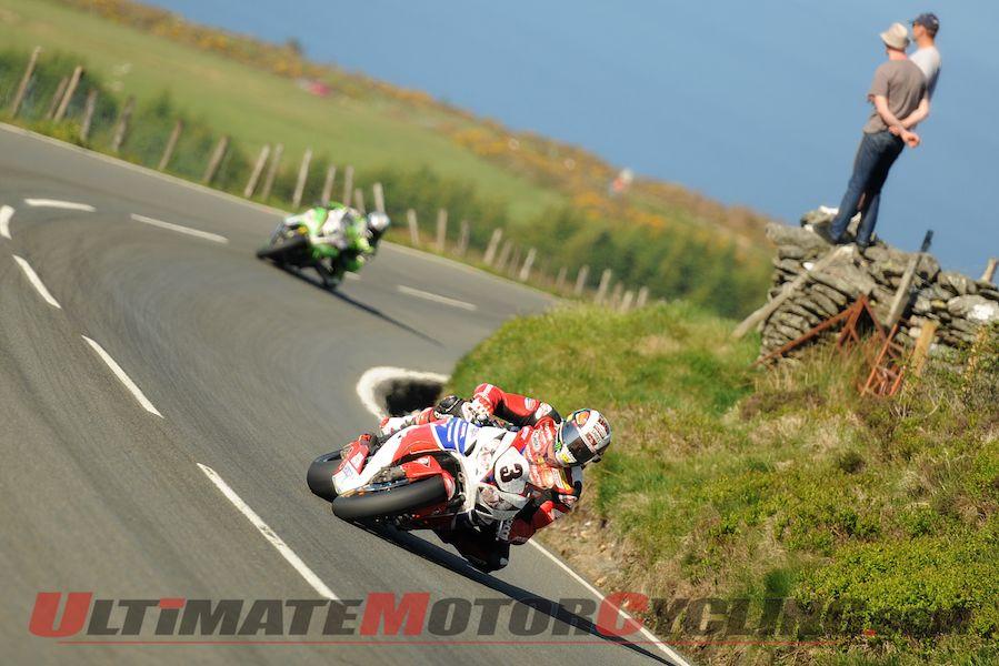 John McGuinness at the 2013 Isle of Man TT