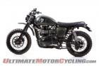 """British Customs """"Dirt Bike"""" Triumph Scrambler"""