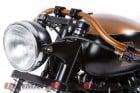 """British Customs """"Vintage Vendetta"""" Triumph Speedmaster"""
