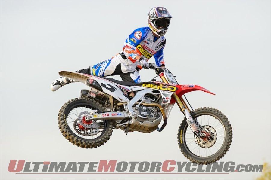 GEICO Honda's 450 Rookies Tomac & Hahn Ready for 2014 Supercross