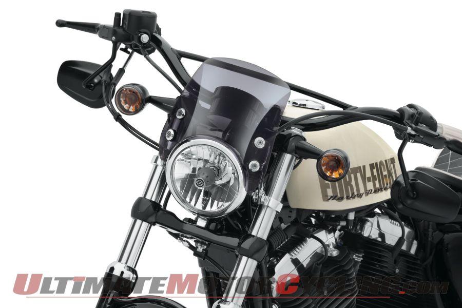 Harley-Davidson Compact Sport Deflector for Sportster