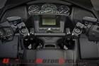 HeliBars Adjustable Handlebars on Honda F6B