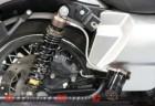 Progressive Suspension 970 Series Piggyback Shock on Harley Bagger
