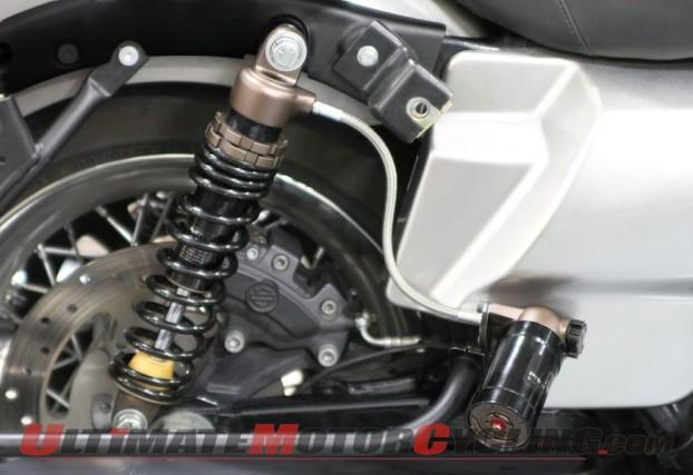 Progressive Suspension 970 Series Piggyback Shocks for Harley Baggers