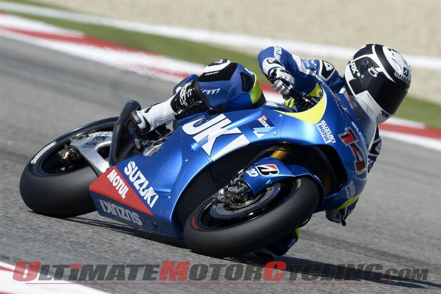 Suzuki MotoGP test pilot Randy de Puniet