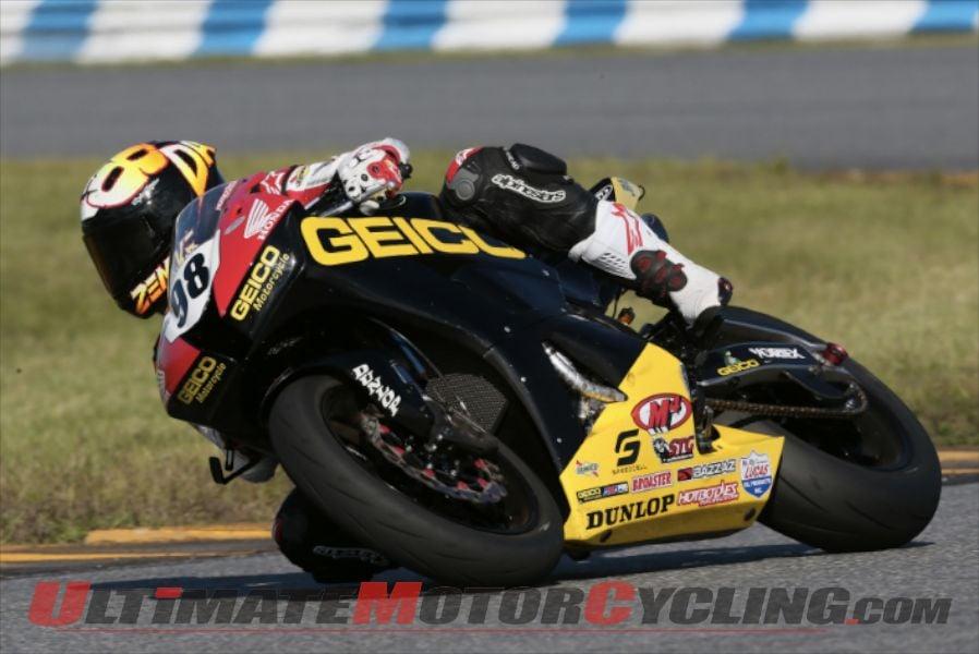 GEICO Honda's Jake Zemke