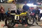 Custom Yamaha TZ750 with Bob Star (left) and builder Jeff Palhegyi