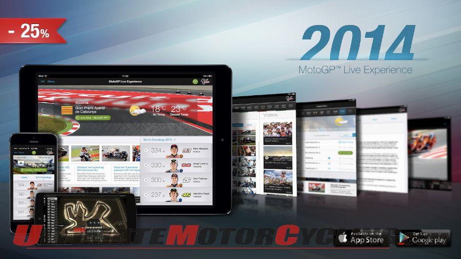 MotoGP Experience APP, MotoGP Live Timing, MotoGP Apps