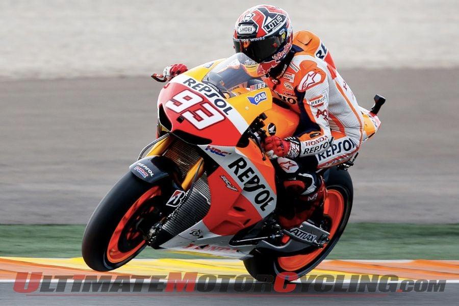 Repsol Honda's Marc Marquez - the 2013 MotoGP Champion