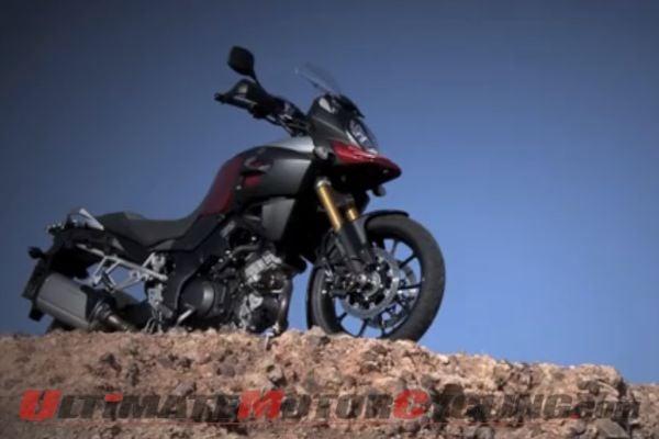 2014 Suzuki V-Strom 1000 | World Press Launch Video Review