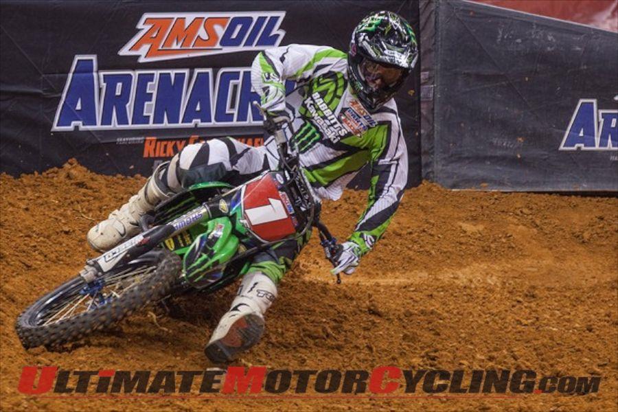 Kawasaki's Bobbitt Top Rider Ahead of 2014 AMSOIL Arenacross