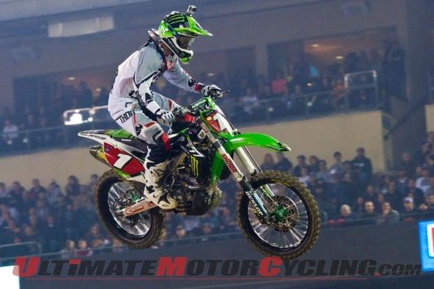 2014 Anaheim 1 Supercross | Roczen, Villopoto & Reed Photo Gallery