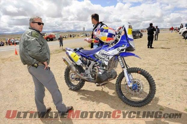 Dakar 2014 Stage 7 Motorcycle Results   Barreda Wins, Coma Leader