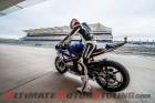 Moto2's Josh Herrin at COTA