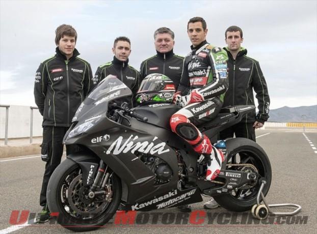 Kawasaki Announces Evo Superbike Class Entry with David Salom