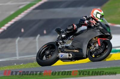 Ducati Team's Davide Giugliano