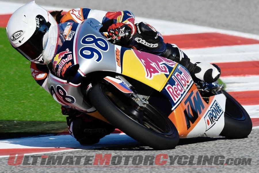 2013 Red Bull MotoGP Rookies Cup Champion Karel Hanika