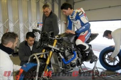 BMW Motorrad Italia Superbike's Sylvain Barrier