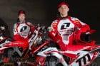 Honda World Motocross Team.
