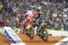 Monster Energy Kawasaki Ryan Villopoto congratulates Red Bull KTM's Ken Roczen