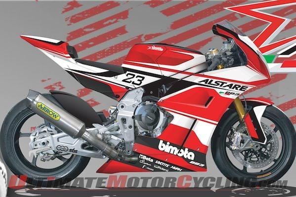Bimota Alstare Junior Team to 2014 FIM Superstock (STK1000)
