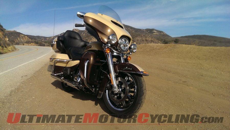 2014 Harley-Davidson Ultra Limited Review   Ham on a Hog