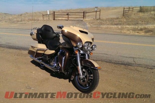 2014 Harley-Davidson Ultra Limited Review | Ham on a Hog