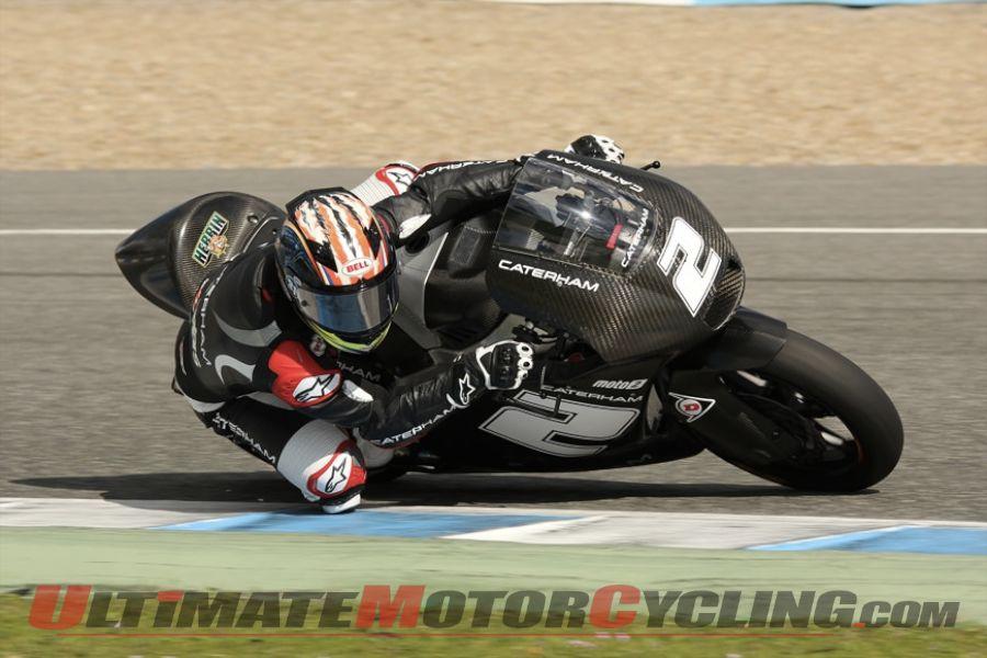 Jerez Moto2 Test, Day 2: Josh Herrin Knocks a Second Off Time