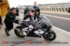 Josh Herrin during Valencia Moto2 testing, day 1