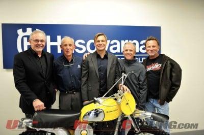 Mark Blackwell, Malcolm Smith, Jon-Erik Burleson, Dick Burleson and Larry Roeseler.