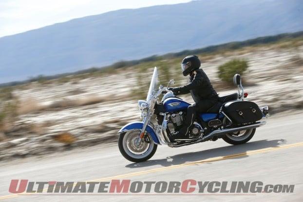2014 Triumph Thunderbird LT & Commander | First Ride Review