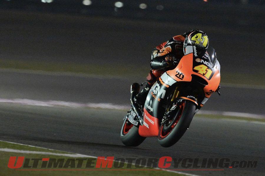 2014 Qatar MotoGP Friday Practice Results | Espargaro Dominates