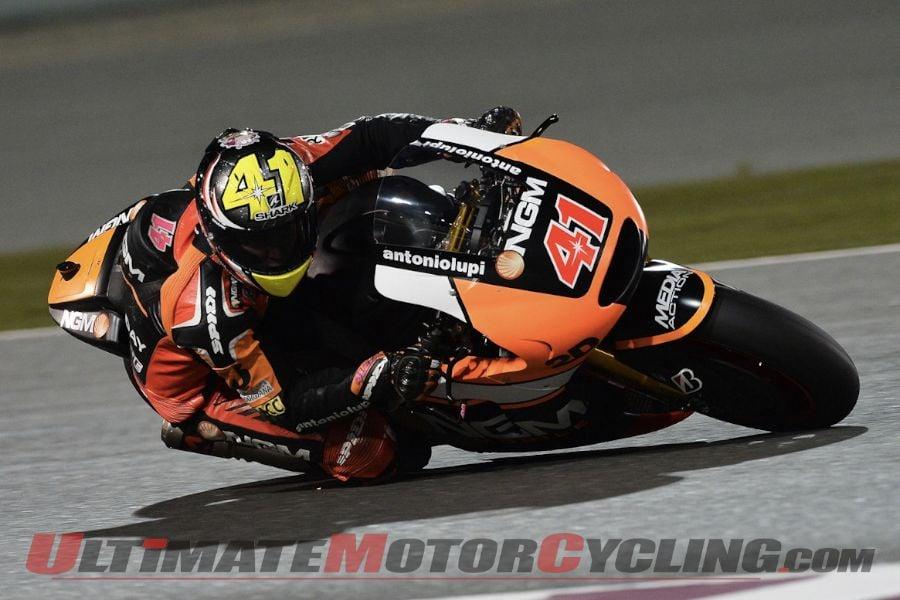 2014 Qatar MotoGP FP1 Results | Aleix Espargaro Fastest