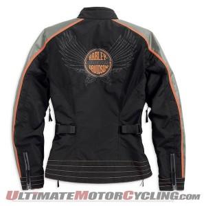 Harley-Davidson Women's Dimension RCS Waterproof Jacket Released