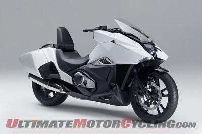 Honda Debuts NM4 'Neo-Futuristic' Concept Motorcycle