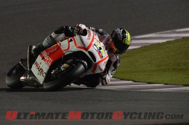 Yamaha's Espargaro Tops Qatar Preseason Open Class MotoGP Test