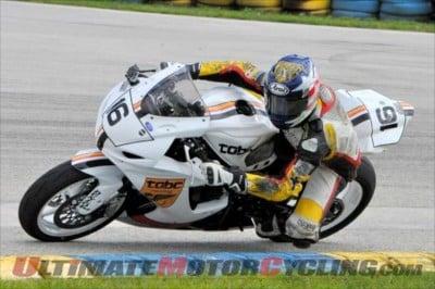 Nick McFadden, #16, TOBC Team in AMA SuperSport