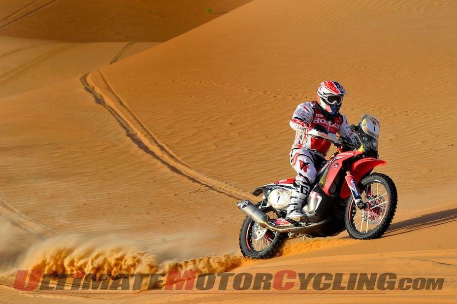 2014 Abu Dhabi Desert Challenge Results | Honda's Goncalves Victorious