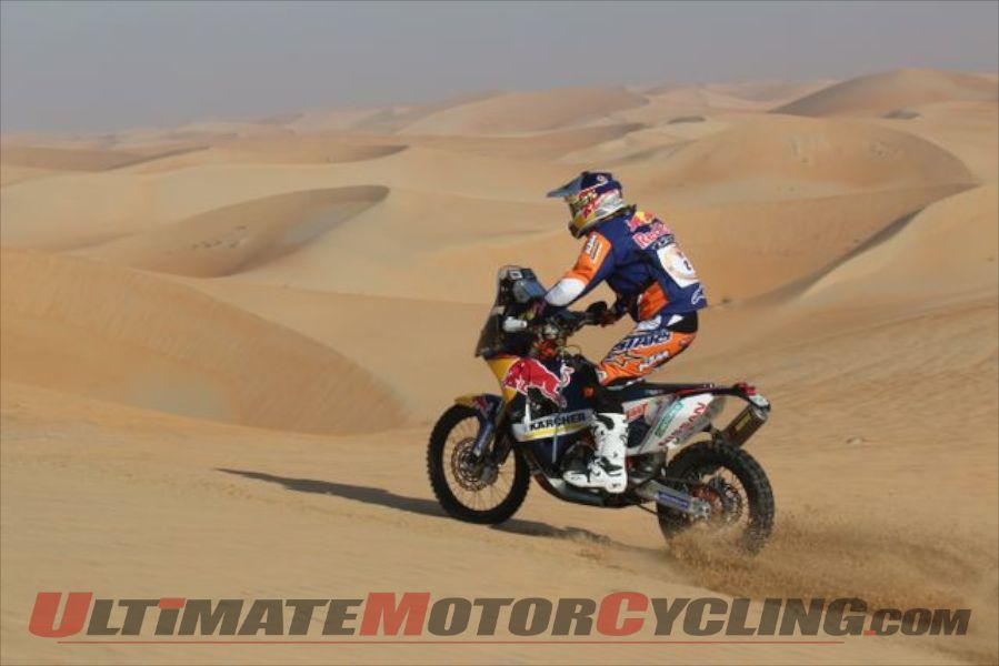 2014 Abu Dhabi Desert Challenge Stage 2 Results – KTM's Coma Quickest