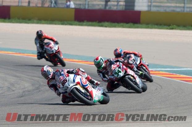 2014 Aragon World Superbike Results