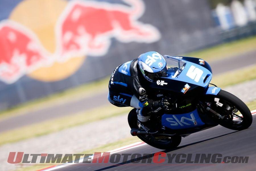 2014 Argentina Moto3 Results from Termas de Rio Hondo