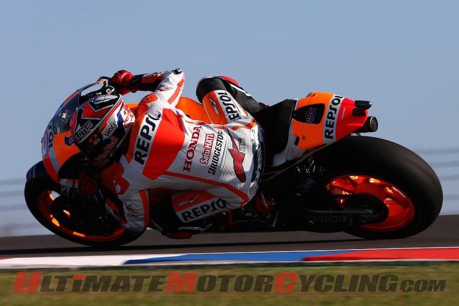 2014 Argentina MotoGP | Sunday Pre-Race Stats