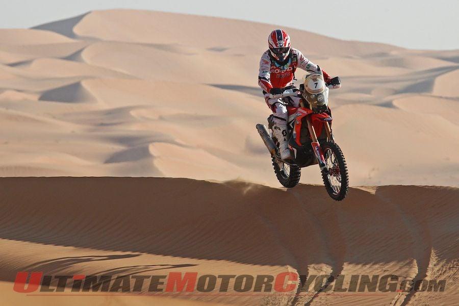 2014 Abu Dhabi Desert Challenge Stage 3 Results – Honda's Barreda Wins